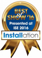 Best of Show-Installation-ISE2016