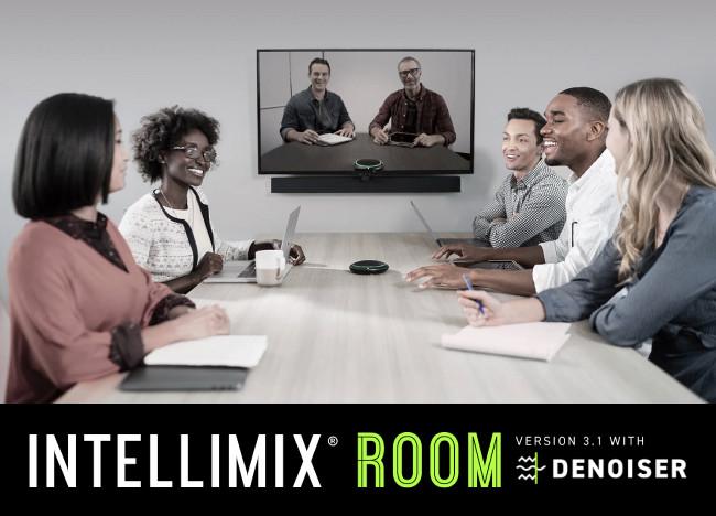 Denoiser для IntelliMix Room сделают ваши встречи, собрания и переговоры еще более продуктивными.
