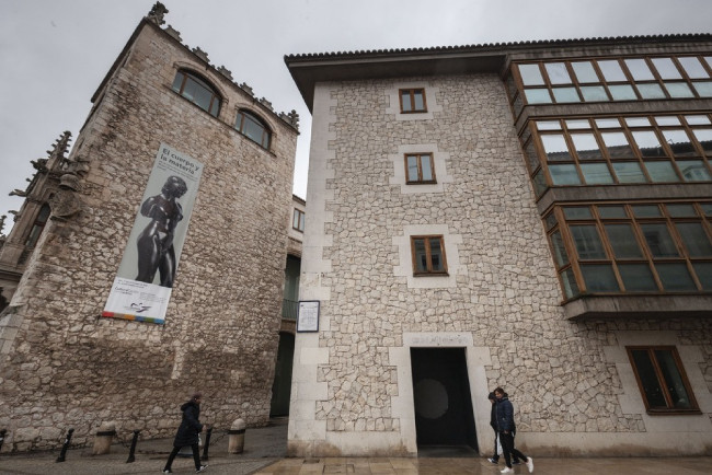 Здесь располагается Штаб-квартире Фонда Каха де Бургос, Испания